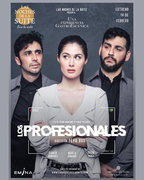 """Experiencia Gastroescénica / Ultrateatro: """"Los Profesionales"""""""